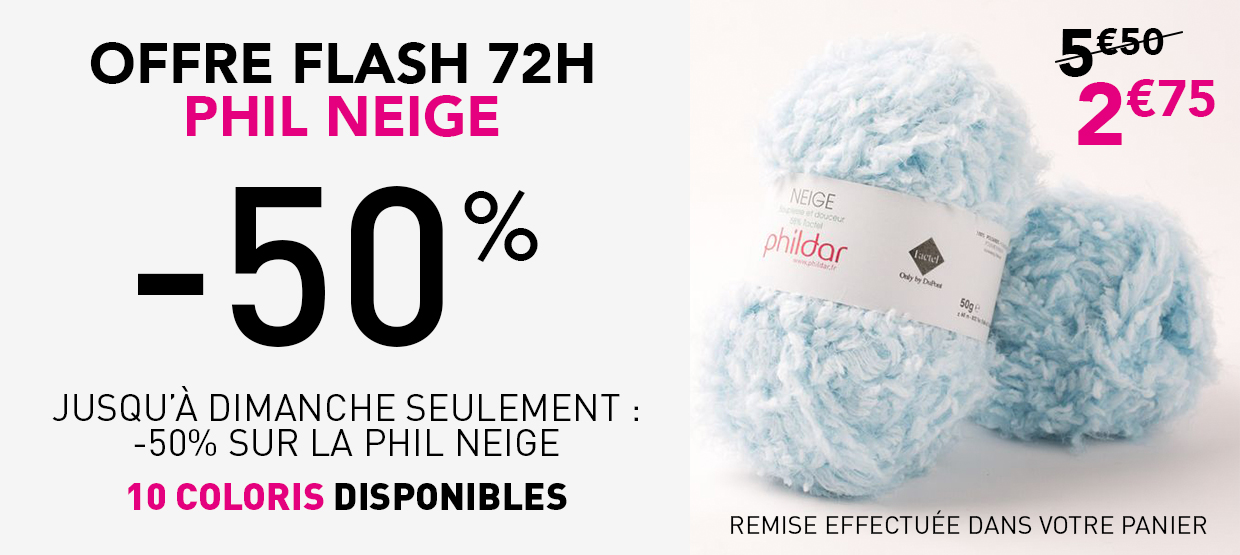Offres flash Phil Neige